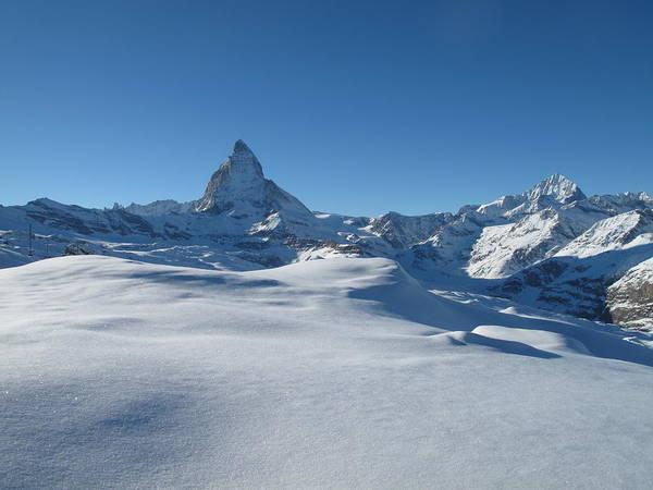 Horizontal Poster featuring the photograph Matterhorn, Switzerland by Thepurpledoor