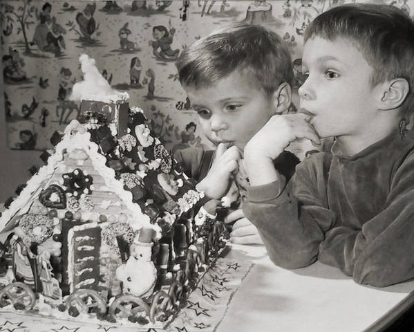 Children Poster featuring the photograph Memories Of A Special Christmas by Christine Till