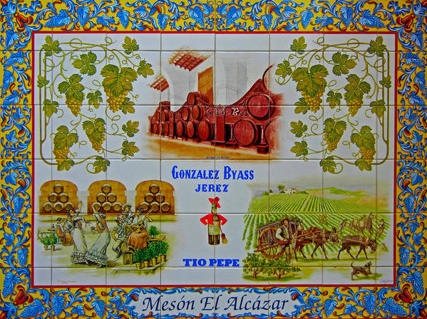 Europe Poster featuring the photograph Meson El Alcazar by Juergen Weiss