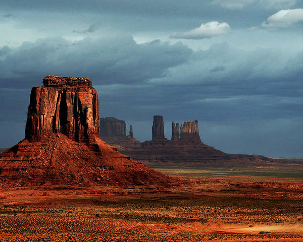Spring 2011 Poster featuring the photograph Monument Valley 1 by Jerry Ellison