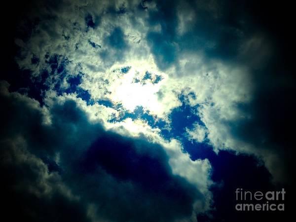 Sky Poster featuring the photograph Mysterious Sky by Deborah Selib-Haig DMacq