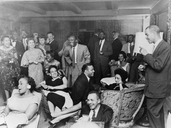 History Poster featuring the photograph Naacp Members At Fashionable Social by Everett
