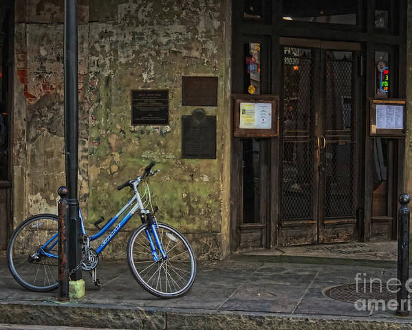 Napoleon Poster featuring the photograph Napoleon House New Orleans by Kathleen K Parker