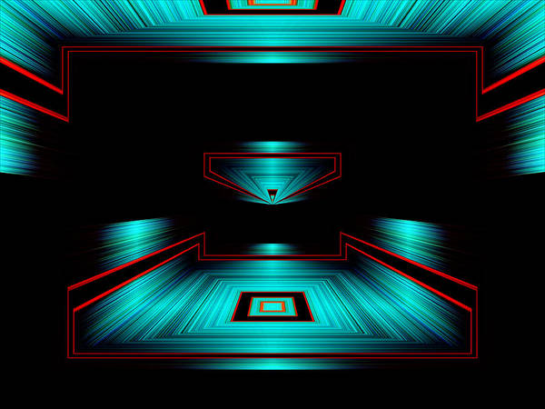 Abstract Photography Poster featuring the photograph Ojas No.1 by Danny Lally