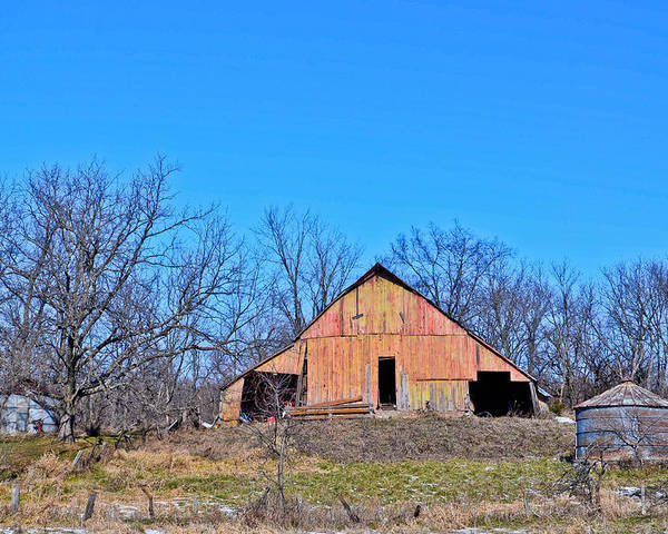 Barn Poster featuring the photograph Old Barn by Julio n Brenda JnB