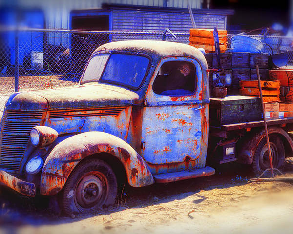Truck Poster featuring the photograph Old Junk Truck by Garry Gay