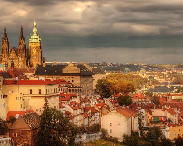 Prague Poster featuring the photograph Overlook Prague by John Galbo