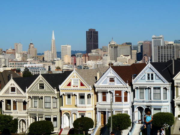 Painted Ladies Poster featuring the photograph Painted Ladies by Jeff Lowe