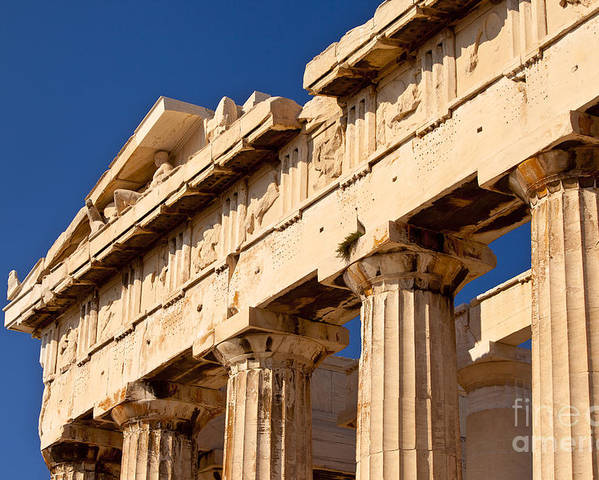 Parthenon Poster featuring the photograph Parthenon by Brian Jannsen