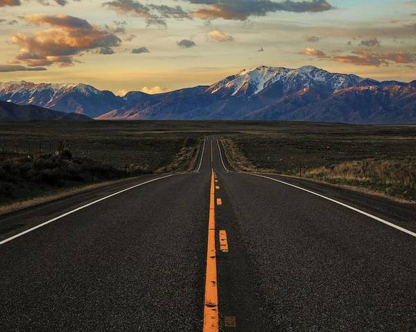 Idaho Poster featuring the photograph Peaks To Craters Highway by Benjamin Yeager