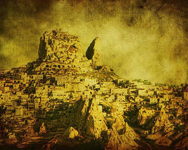 Cappadocia Poster featuring the photograph Persian Empire by Andrew Paranavitana