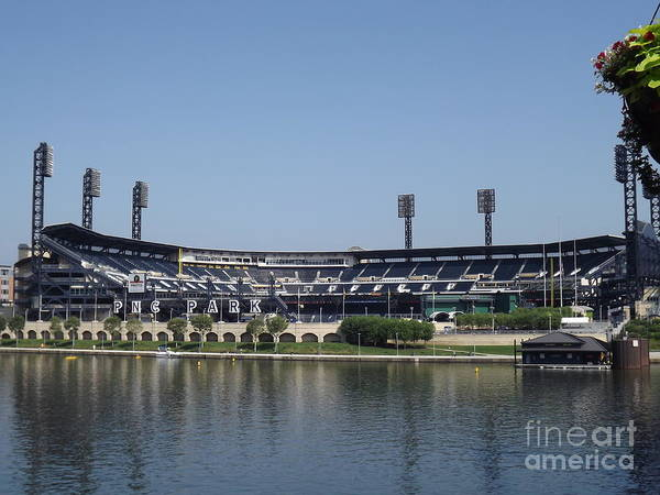Pnc Poster featuring the photograph Pnc Park by Chad Thompson
