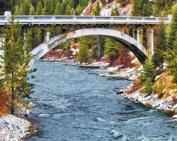 Idaho Poster featuring the photograph Rainbow Bridge by Vincent Sosa