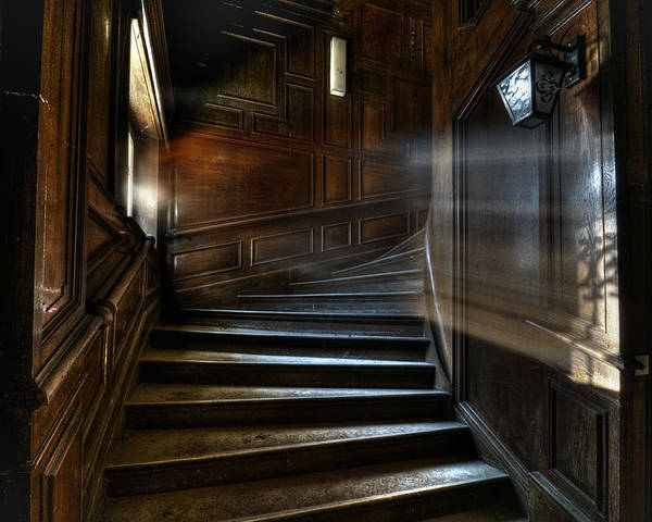 Abandon Poster featuring the photograph Ray Of Light by Nathan Wright