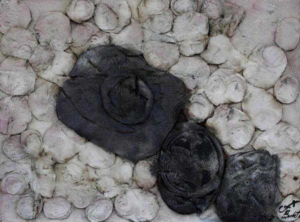 Black Memories Poster featuring the sculpture Recuerdos 6 by Jorge Berlato