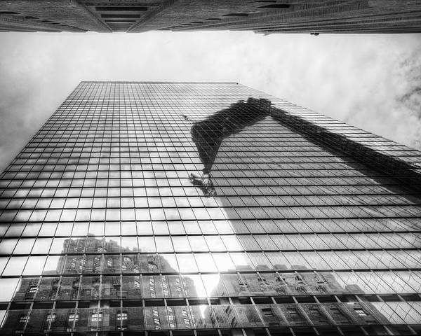 Freedom Tower Poster featuring the photograph Reflections Of Freedom by Vicki Jauron