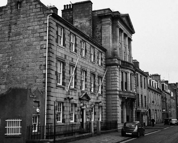 Regent Poster featuring the photograph Regent Quay Aberdeen Scotland Uk by Joe Fox