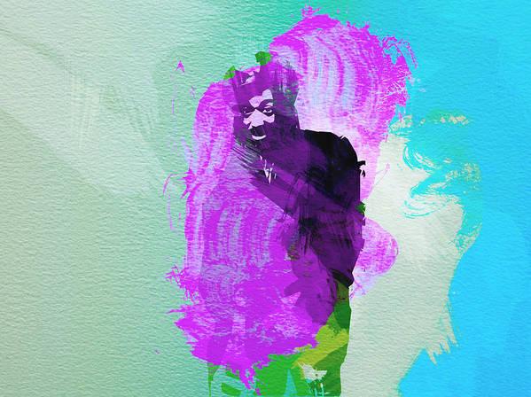 Reggae Kings Poster featuring the painting Reggae Kings 2 by Naxart Studio