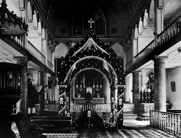 1880s Poster featuring the photograph Religion, Our Lady Of Peace Cathedral by Everett
