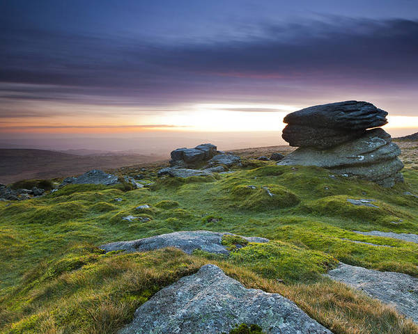 England Poster featuring the photograph Rippon Tor II by Sebastian Wasek