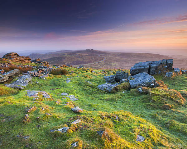 England Poster featuring the photograph Rippon Tor by Sebastian Wasek