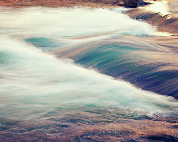 Horizontal Poster featuring the photograph River Rapids by Isabelle Lafrance Photography