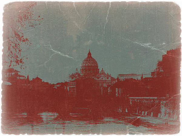 Rome Poster featuring the photograph Rome by Naxart Studio