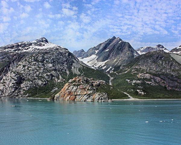 Glacier Bay Poster featuring the photograph Russell Island by Kristin Elmquist