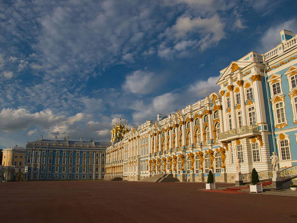 Built Structure Poster featuring the photograph Saint Catherine Palace by David Smith