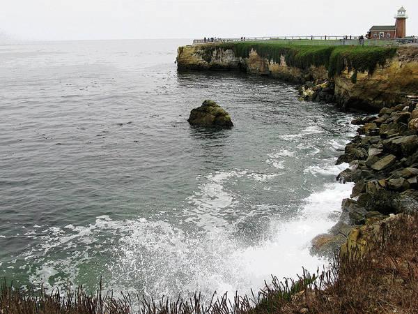 Ocean Poster featuring the photograph Santa Cruz by Joanne Riske