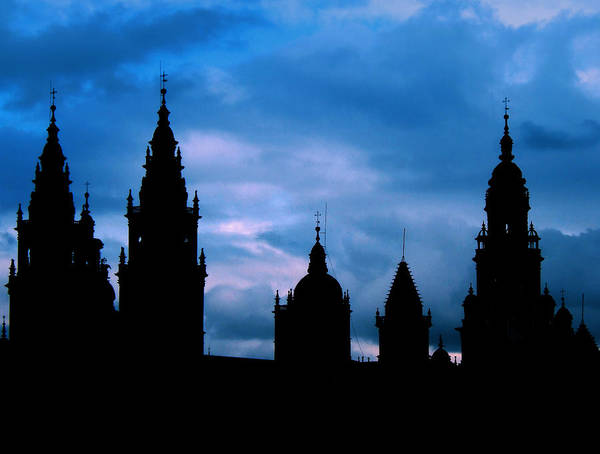 Spain Poster featuring the photograph Silhouette Of Spanish Church by Jasna Buncic