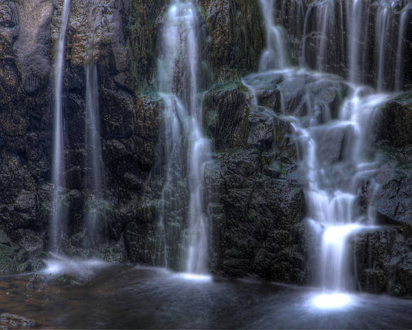 Buttermilk Falls Poster featuring the photograph Silk by Jeff Bord