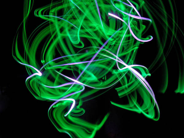 Skrillex Poster featuring the photograph Skrillen The Mood 1 by Cyryn Fyrcyd