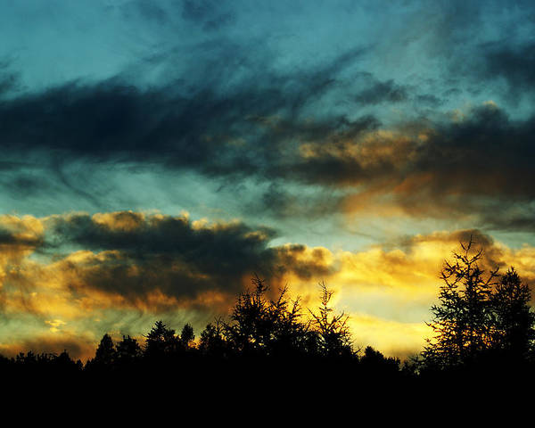Sunset Poster featuring the photograph Sky Attitude by Aimelle