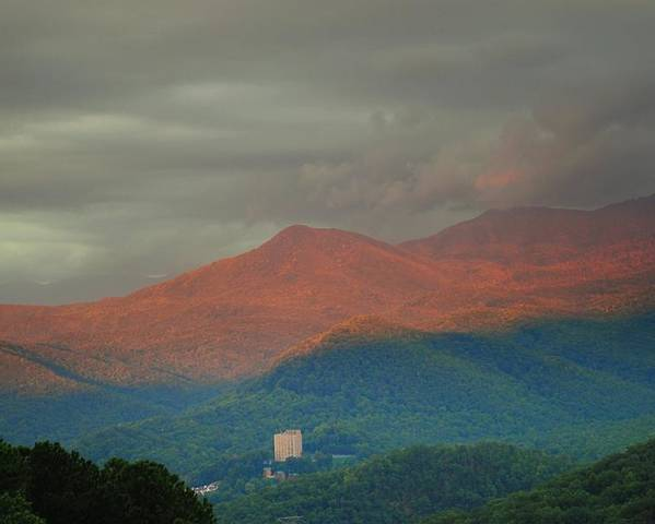 Smoky Mountains Poster featuring the photograph Smoky Mountain Way by Frozen in Time Fine Art Photography