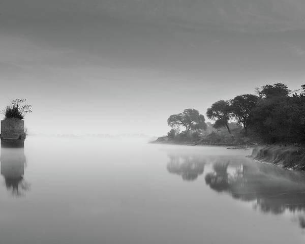 Horizontal Poster featuring the photograph Solitude-ii by Amer S Raja - Arifsons, Jhelum.