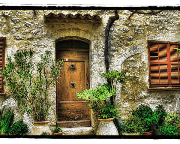 Art Poster featuring the pyrography South Of France 1 by Mauro Celotti