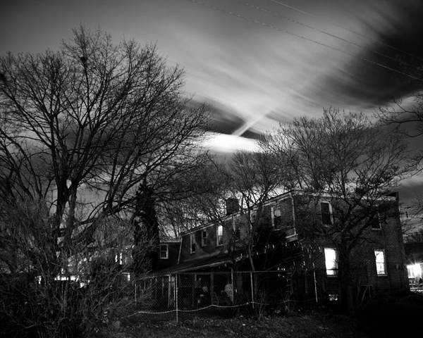 Fine Art Photographs Poster featuring the photograph Spooky Night by Ken Stachnik