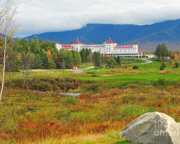 The Mount Washington Hotel Poster featuring the photograph Stickney's Dream by Catherine Reusch Daley