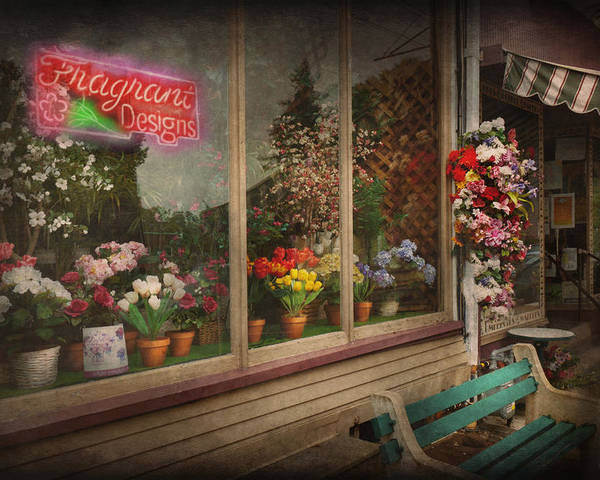 Hdr Poster featuring the photograph Store - Belvidere Nj - Fragrant Designs by Mike Savad