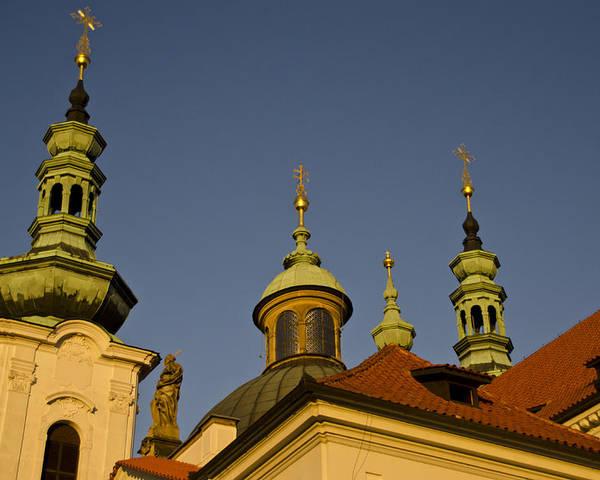 Strahov Monastery Poster featuring the photograph Strahov Monastery - Prague Czech Republic by Jon Berghoff
