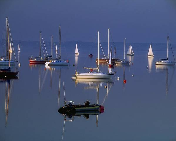 Peaceful Poster featuring the photograph Strangford Lough, Co Down, Ireland by Sici
