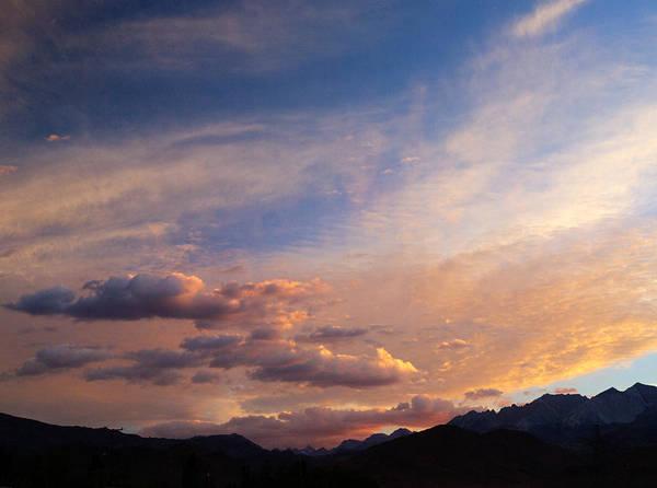 California Sunset Poster featuring the photograph Sundown On The Sierras by Joe Schofield