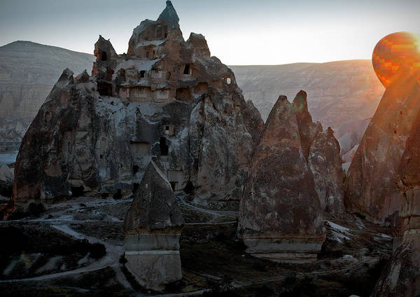 Fairy Chimneys Poster featuring the photograph Sunrise Over Cappadocia by RicardMN Photography