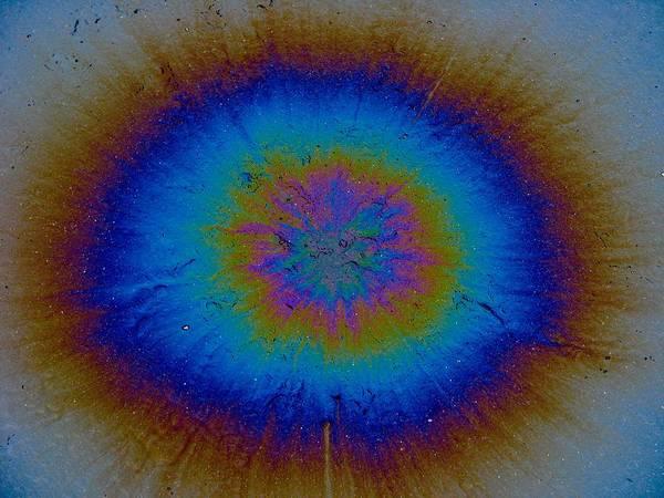 Asphalt Poster featuring the photograph Supernova by Samuel Sheats