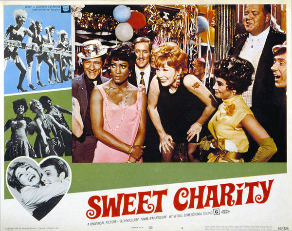 1960s Movies Poster featuring the photograph Sweet Charity, Paula Kelly, Shirley by Everett