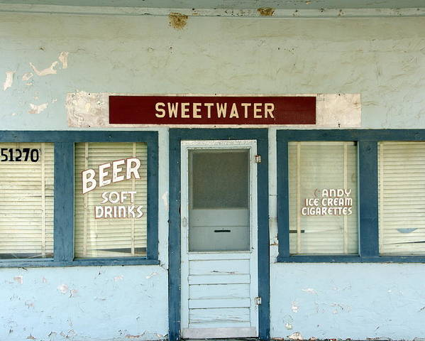 Beer Poster featuring the photograph Sweetwater Store by Jeff Lowe