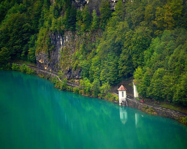 Lake Switzerland Poster featuring the photograph Switzerland - Lake by Geoff Evans