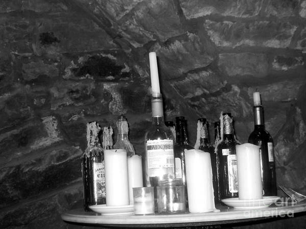 Table Of Spirits Poster featuring the photograph Table Of Spirits by Jennifer Sabir