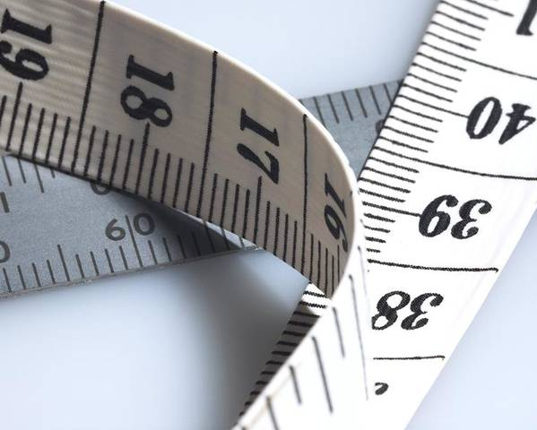Equipment Poster featuring the photograph Tape Measure by Sheila Terry